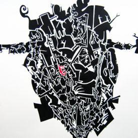 Untitled (Black ink)